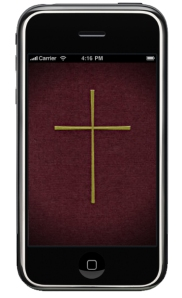 iPhone Lectionary app