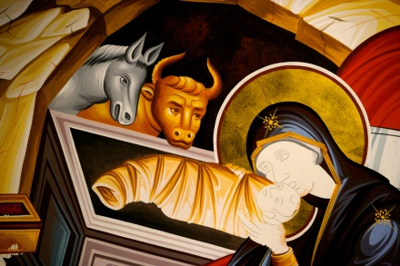 nativity icon unfinished