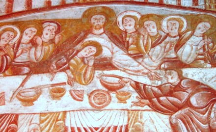 Last Supper, Church of Saint Martin